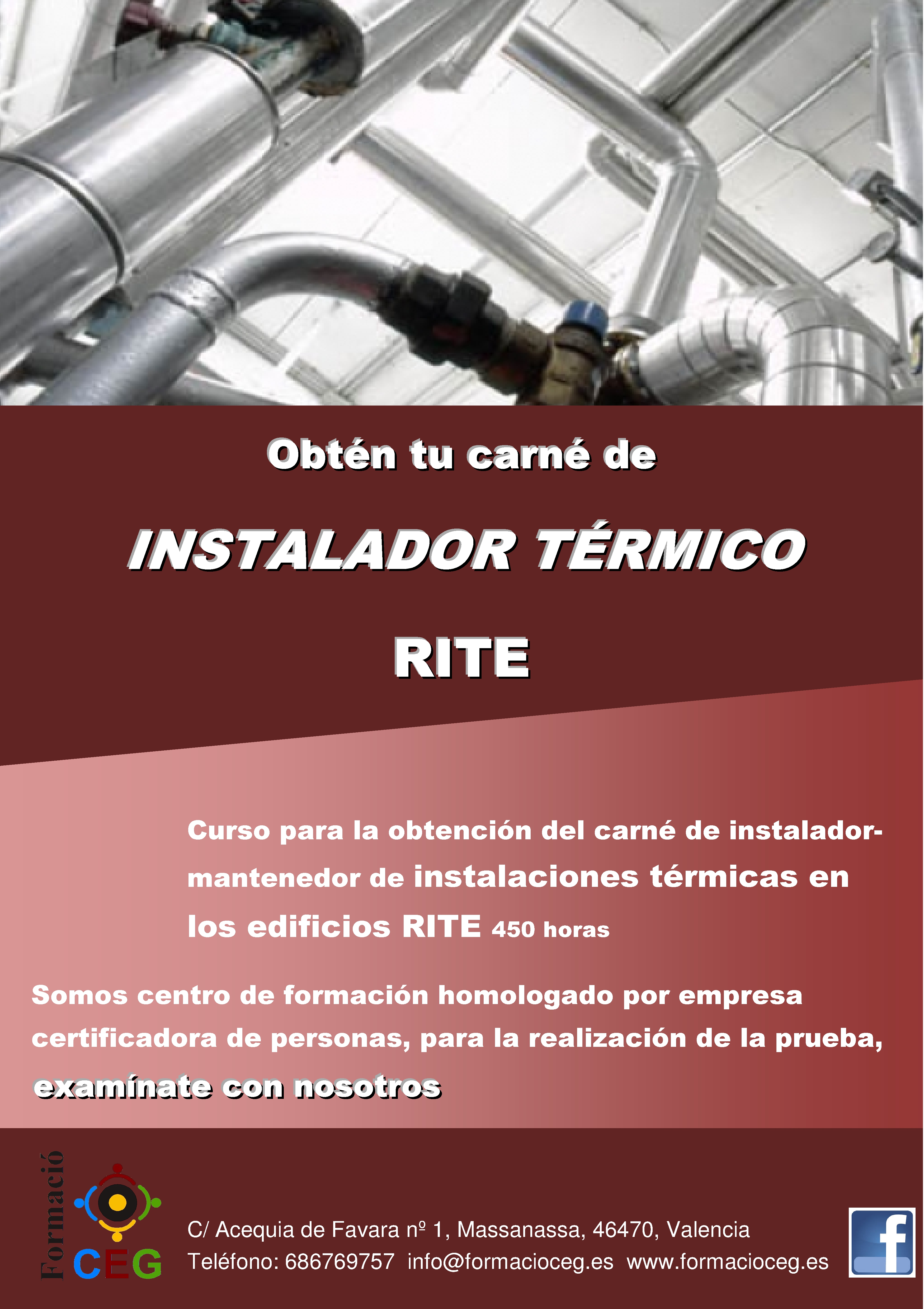 Curso de instalador térmico en edificos RITE